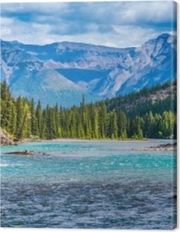 Lovely Canadian mountain landscape Premium prints