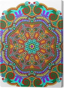 mandala, circle decorative spiritual indian symbol of lotus Premium prints