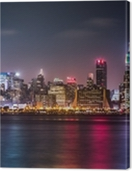 Manhattan Panorama during the Pride Weekend Premium prints