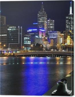 Melbourne mit Skyline und Yarra River Premium prints