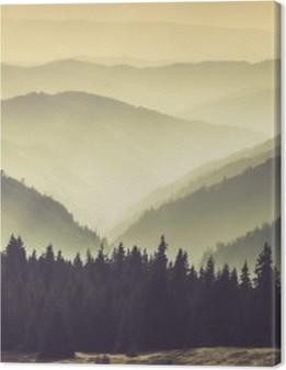 Misty mountain hills Premium prints