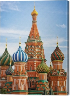 Moscow, Russia, Saint Basil's cathedral Premium prints