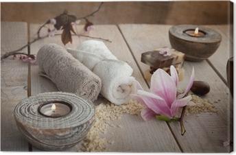 Natural spa setting Premium prints