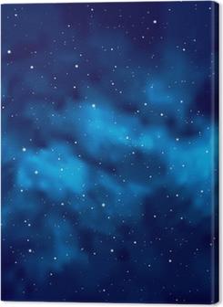 Night sky with stars Premium prints