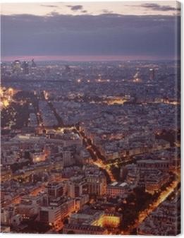 Night view of Paris. Premium prints
