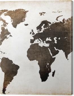 Old world map Premium prints