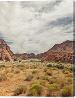 Red Canyon at Snow Canyon, Utah Premium prints