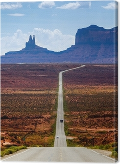 Road to the Monument Valley Premium prints