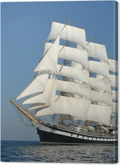 Sailing ship. series of ships and yachts Premium prints