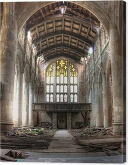 Sanctuary. Abandoned City Methodist Church in Gary, Indiana. HDR Premium prints