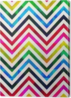 seamless chevron pattern Premium prints