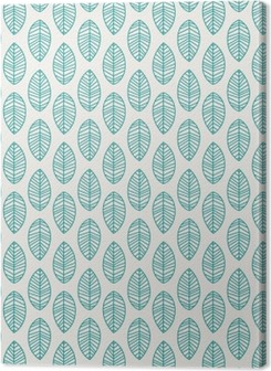 seamless pattern with leaves Premium prints
