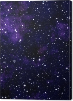 Seamless texture simulating the night sky Premium prints