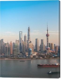 shanghai lujiazui panoramic view Premium prints