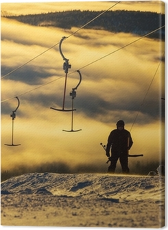Ski resort Premium prints