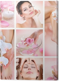 Spa Collage Premium prints