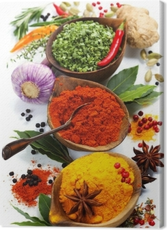 Spices and herbs Premium prints