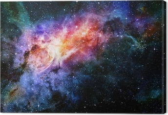 starry deep outer space nebula and galaxy Premium prints