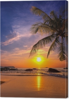 Sunset over the sea. Province Khao Lak in Thailand Premium prints