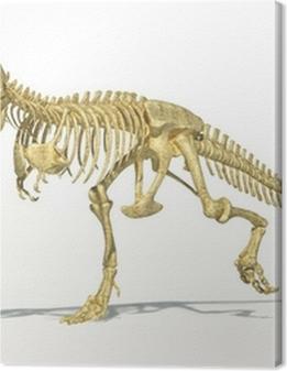 T-Rex dinosaur full skeleton, photo-realistic, scientifically co Premium prints