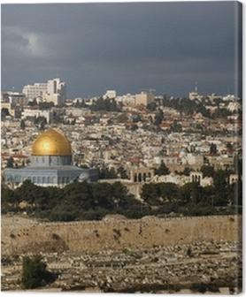 The holy city Jerusalem from Israel Premium prints