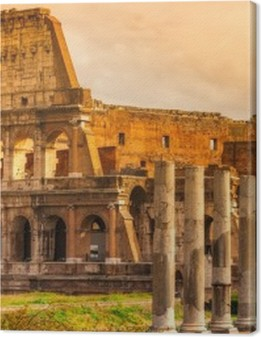 The Majestic Coliseum, Rome, Italy. Premium prints
