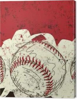 Three baseballs Premium prints