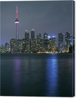 Toronto city at night Premium prints