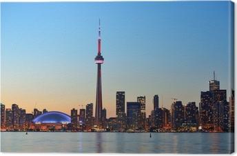 Toronto cityscape Premium prints