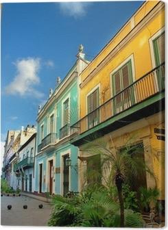 typical old Havana architecture Premium prints