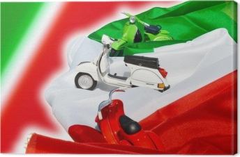 vespa 50 italia Premium prints