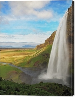 Waterfall in Iceland - Seljalandsfoss Premium prints