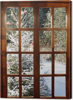Weichnachten im Schnee Premium prints