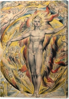 William Blake - Moses Premium prints