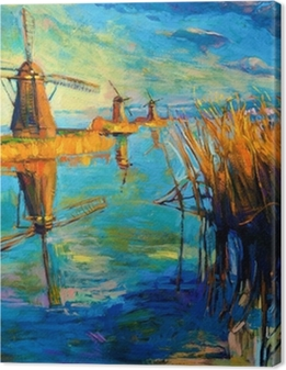 Windmills Premium prints