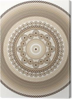 Premiumbilder Detaljerad henna Mandala Design