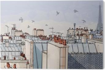 PVC Baskı Fransa - Paris çatıları