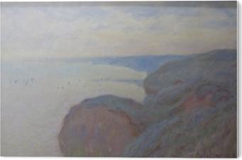 Claude Monet - Steef Cliffs near Dieppe PVC Print