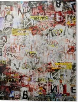 Grunge textured background PVC Print