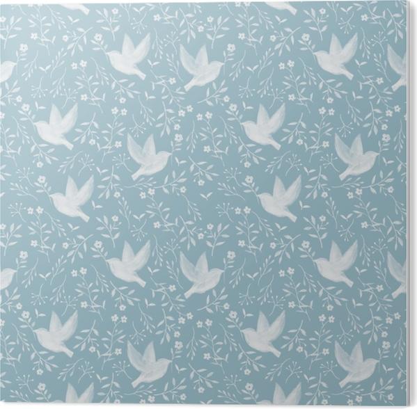 Hope dove - Nina Ho PVC Print - Contemporary artists