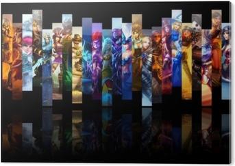 League of Legends PVC Print