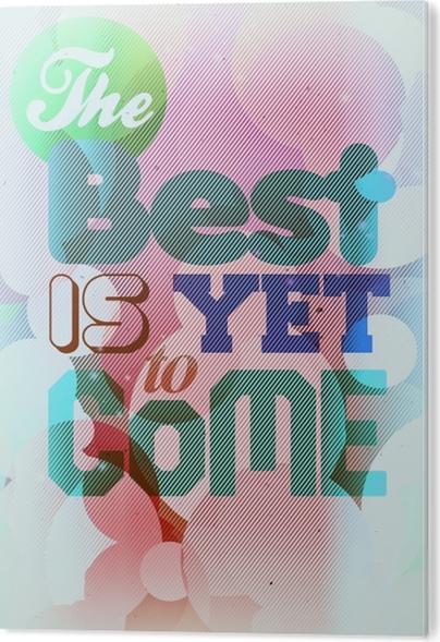 PVC Print Motivatie Poster -
