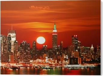 New York City skyline PVC Print