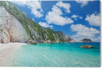 Petani beach, Kefalonia, Greece PVC Print