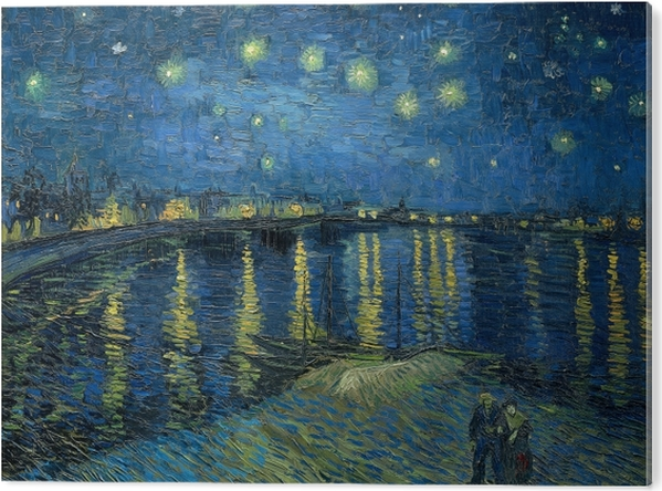Vincent van Gogh - Starry Night Over the Rhone PVC Print - Reproductions