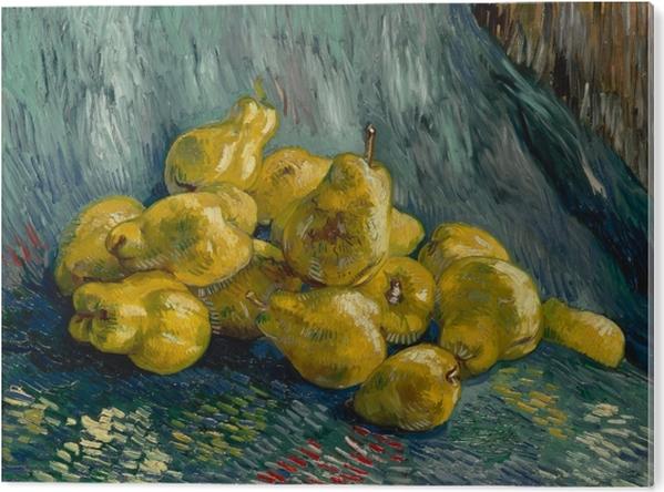 PVC Print Vincent van Gogh - Stilleven met kweeperen - Reproductions