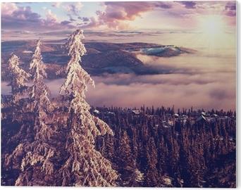 PVC Print Winter in Noorwegen