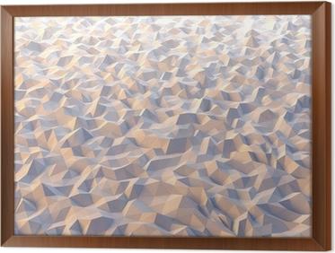 Carta da parati astratto piano triangolare con luce soffusa