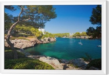 Quadro in Cornice Cala d'Or baia, isola di Maiorca, Spagna