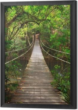 Quadro in Cornice Colmare nella giungla, parco nazionale di Khao Yai, Thailandia